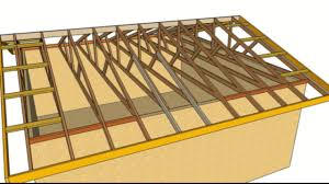 building roof trusses for shed best roof 2017