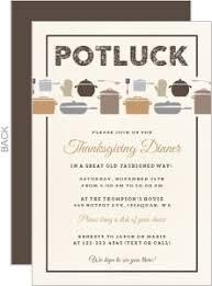 potluck thanksgiving invitations happy thanksgiving