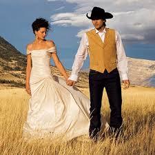 western wedding cowboy wedding style theme sang maestro