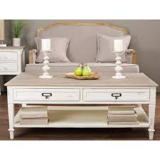 light colored coffee table sets baxton studio dauphine white and light brown coffee table 28862 6029