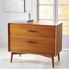 mid century storage cabinet magnificent modern file cabinet filing cabinets storage west elm
