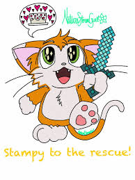 stampy cat minecraft coloring pages minecraft stampy by