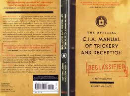 the official cia manual of trickery and deception http www