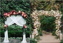 wedding arch lace 55 chic rustic burlap and lace wedding ideas deer pearl flowers