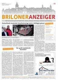 Bauking Bad Essen Briloner Anzeiger Ausgabe Vom 08 11 2017 Nr 40 By Brilon
