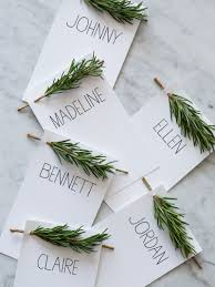 20 creative diy place cards for your thanksgiving table place