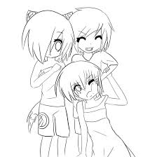 coloring pages anime couples coloring pages mycoloring free