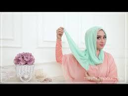 tutorial hijab noura tutorial hijab 1 shawl haicon 3 style cantik by nina noura youtube