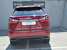 lexus nx 300h executive tecno rx 450h rojo cerise met con 17800km del 2016 en madrid