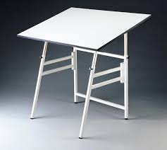 Alvin Elite Drafting Table Alvin Spacesaver Professional Table Gs Direct Inc