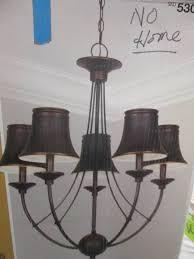 Hampton Bay Caffe Patina Chandelier Lighting U0026 Electrical Indoor Outdoor Shop Fancy Fixtures In