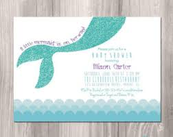 mermaid baby shower mermaid baby shower invitations cloveranddot