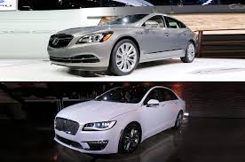 cadillac xts vs lincoln mks 2017 buick lacrosse vs lincoln mkz an auto matchup
