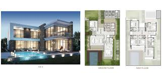 Floor Layout Plan Akoya Damac Hills Cluster Floor Layout Plan