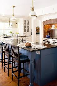 Painted Islands For Kitchens 150 Best Blue Kitchens Images On Pinterest Kitchen Dream