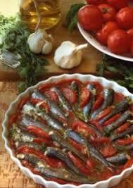 cuisiner les sardines sardines au four à la tomate