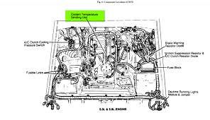 Ford 302 Distributor Wiring Diagram 1991 Ford Bronco Temperature Gauge Sending Unit 2 Terminals