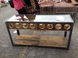 wine rack console table console table design console table with wine rack application