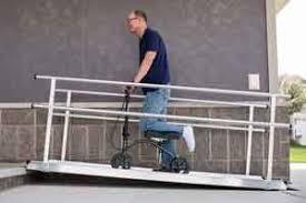 Handicap Handrail Portable Wheelchair Ramps Handicap Ramps Wheelchair Ramps For Homes