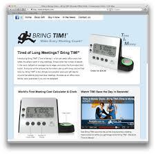 bringtim com website designed by small dot studios and inertia