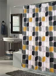 Ideas For Bathroom Curtains Bathrooms Examples Yellow Bathroom Decor For Mid Century Modern