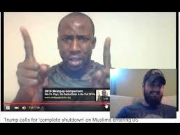 Muslim Man Meme - muslim man violently threatens donald trump for thinking some