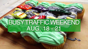 Wsdot Seattle Traffic Map by Busy Traffic Weekend Aug 18 21 Youtube