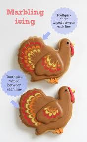turkey sugar cookies decorating cookies 5 easy ways to add visual interest sweetopia