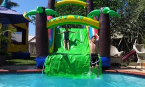 party rentals miami waterslide rental dantes bounce house party rentals groupon