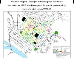 Unc Map Wabsa Example Of Gis Mapped Data