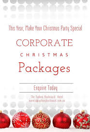 christmas day ideas and christmas party functions sydney