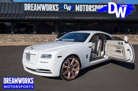 matte rolls royce wraith odell beckham jr u2014 dreamworks motorsports