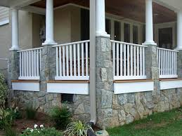 exterior outstanding clsassic porch column design with white