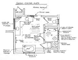 Master Bedroom With Bathroom by Master Bath Floor Plans Bathroom Decor