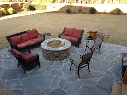 Slate Firepit Belgard S Country Manor Pit Custom Decks Porches Patios