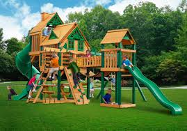 Metal Playsets Wooden Swing Sets Or Playsets On Sale Swingset Paradise Swing