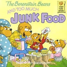 berenstein bears books the berenstain bears and much junk food