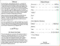 Funeral Programs Samples 12 Free Funeral Program Templatesagenda Template Sample Agenda