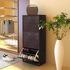 Tall Shoe Cabinet With Doors by Cottage Storage Bench Cabinet Entryway Shoe Organizer Furniture