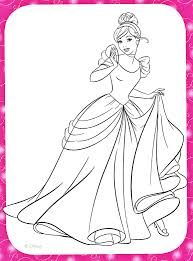 cinderella coloring book games coloring cinderella pages