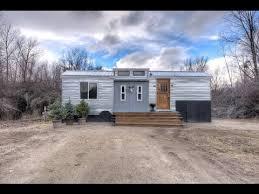 Tiny Tiny Lewis And Clark 5th Wheel Tiny House In Montana Youtube