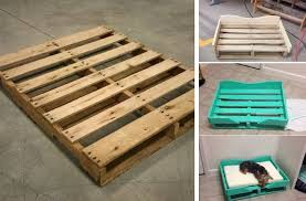 Goods Home Design Diy Diy Pallet Dog Bed Home Design Garden U0026 Architecture Blog Magazine