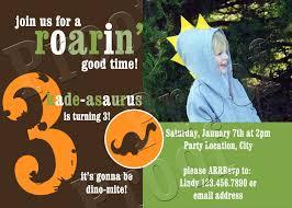 dinosaur birthday party invitations u2013 gangcraft net