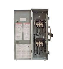 winco square d manual transfer switch 100 amp 3 pole 208 240v
