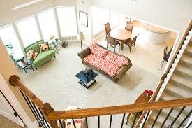 living room of ball homes u0027 hudson model home the hudson