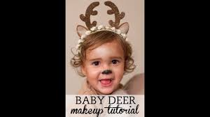 halloween deer makeup for toddlers youtube