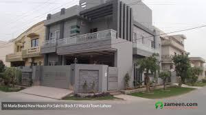 Home Design In 10 Marla by Side Load Garage House Plans Small Corner Lot Design Elevation