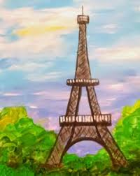 painting party eiffel tower u2013 uncommon art