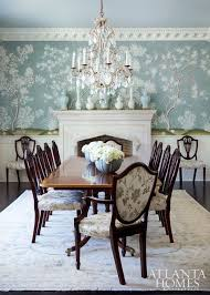 furniture stores in georgia furniture walpaper a celadon hued gracie wallpaper sets a romantic tone in the dining