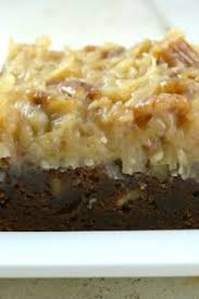 german chocolate brownies what i looooooooooooooooooove me some